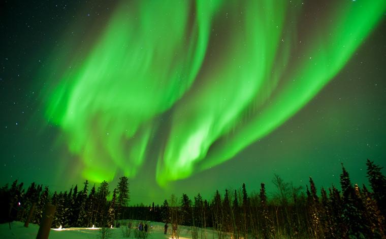 Kleurige hemel: het beste zicht op het Noorderlicht