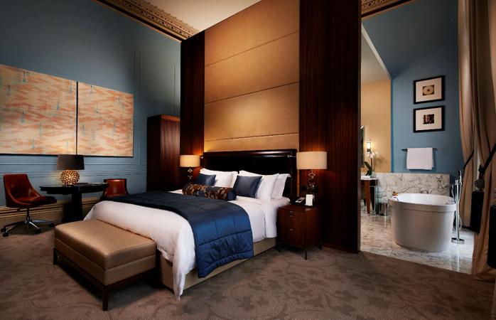 Ga voor luxe en slaap als een koning! © St. Pancras Renaissance Hotel London