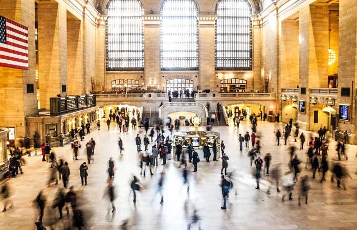 De gekte van Grand Central Station